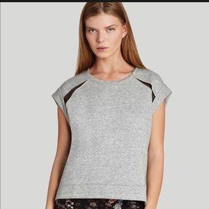 BCBG   Bastian Gray Sleeveless Sweatshirt NWT